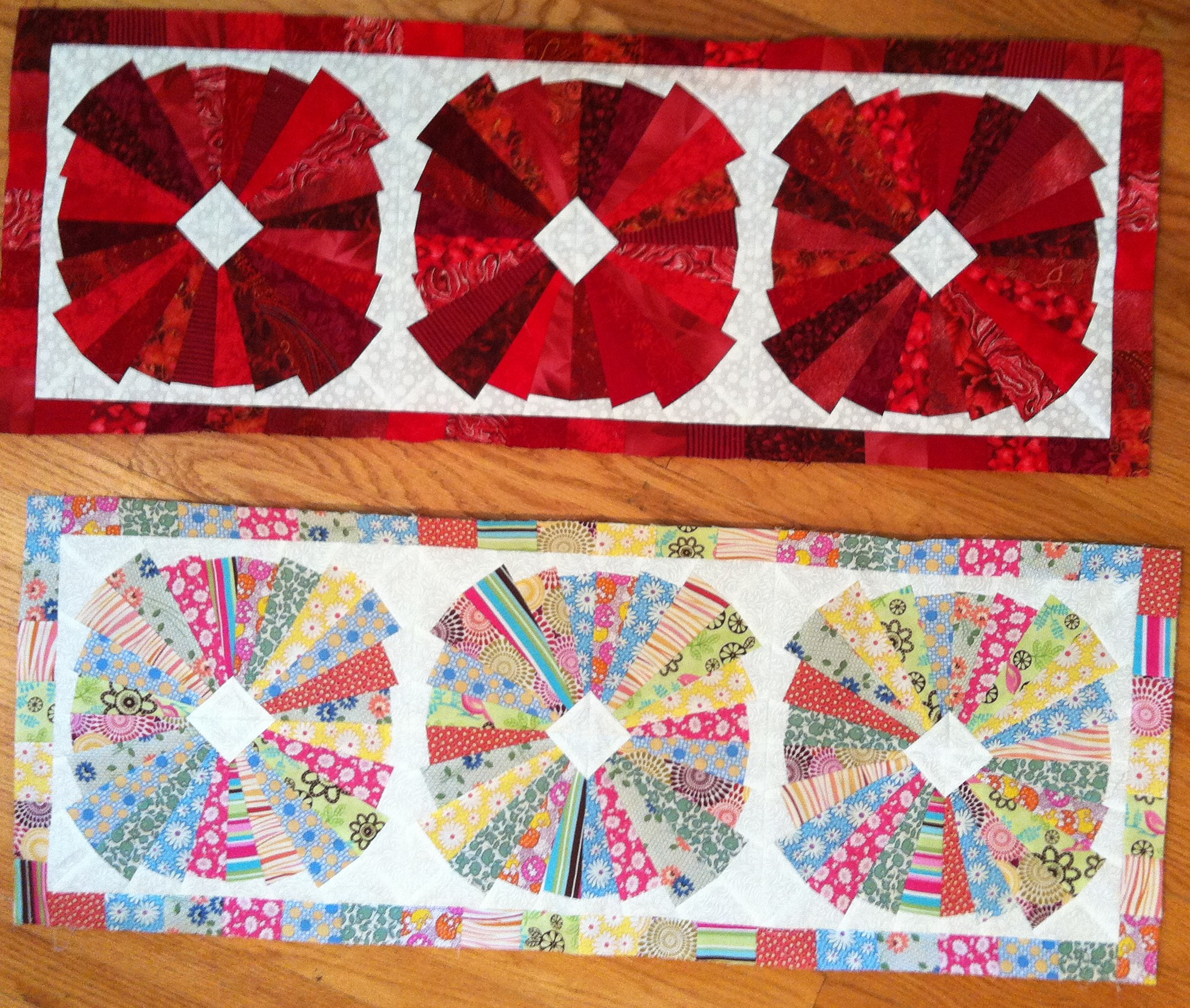 Quilting Grid Patterns : Free patterns for the Creative Grids 15-Degree Triangle Ruler Erin Underwood Quilts Blog