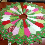 flamingo tree skirt