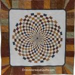 optical illusions in plaid
